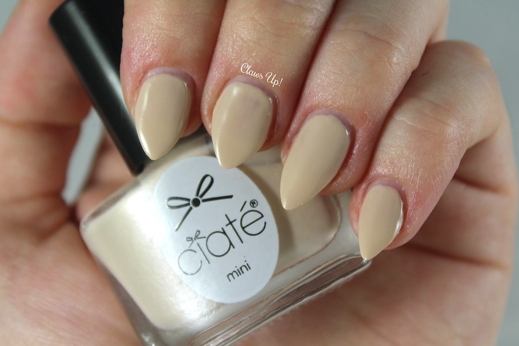 Ciate Cookies and Cream Swatch