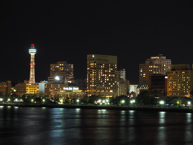 Yokohama City Night at Christmas Eve 2016 (37)