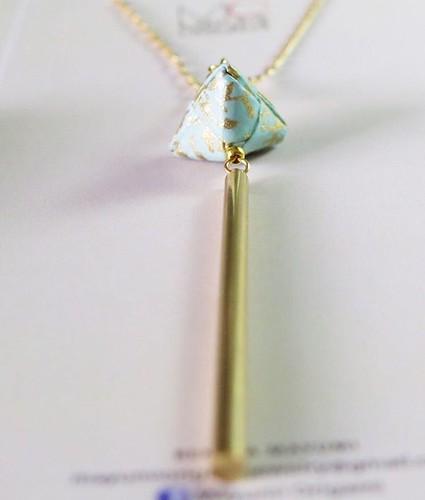 Mayumi Origami Necklace