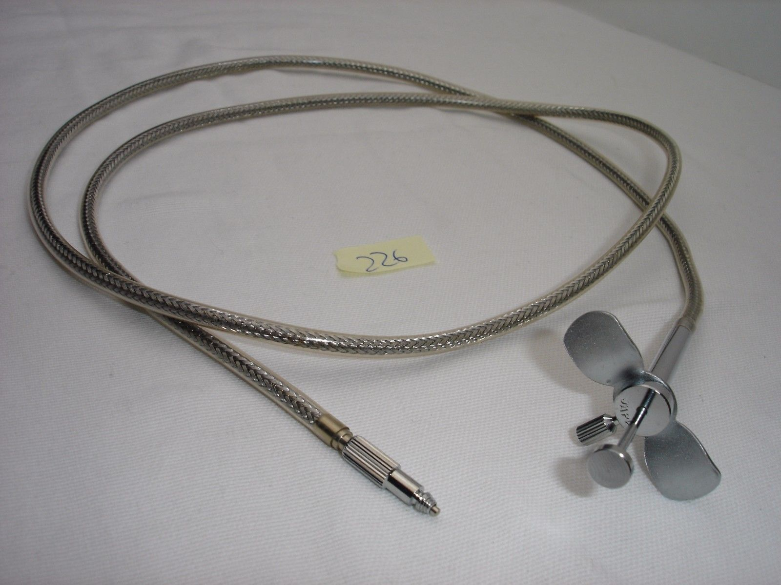 """38"""" long vintage shutter release cable w. T-lock (made in Japan)"""