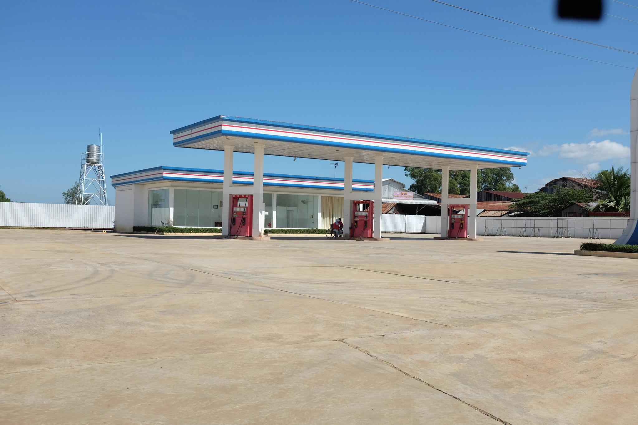 Cambodia Tankstelle