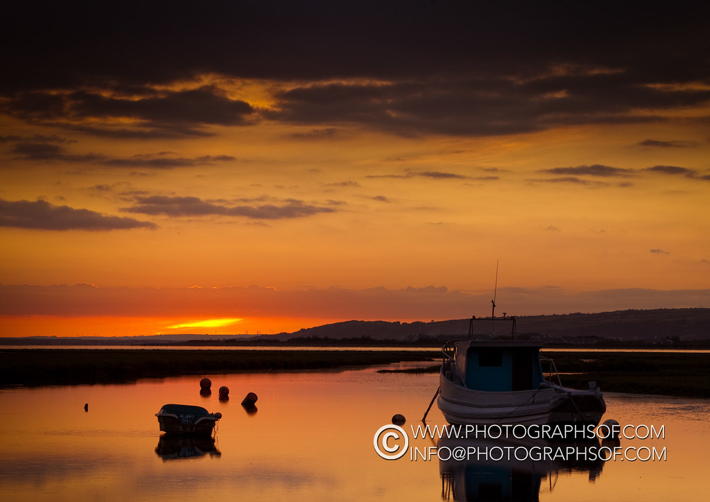 20110817Penclawdd Sunset