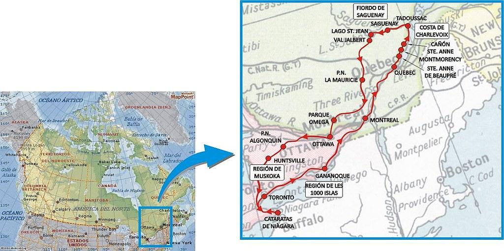 COSTA ESTE DE CANADA POR LIBRE 2016 -Diarios de Viajes de Canada ...