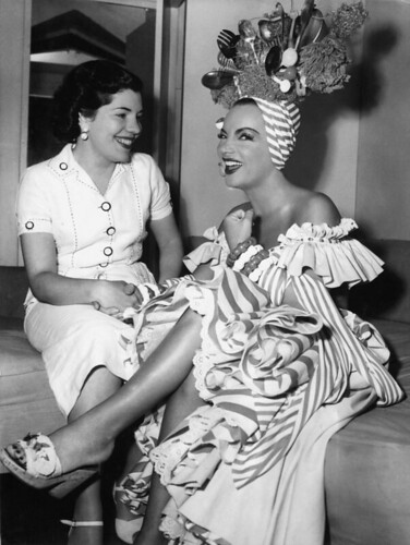 Carmen Miranda 1953 Scared Stiff