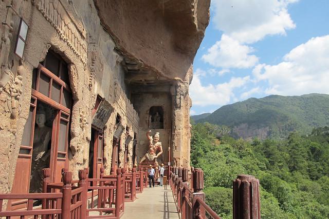 麦积山Maijishan Grottoes