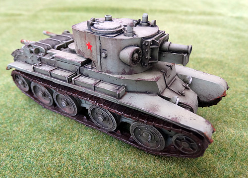 Bolt Action - Soviet BT7, KV-1, GAZ-AAA