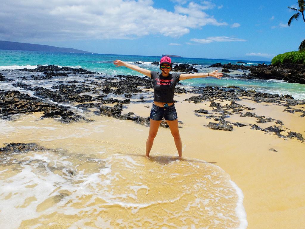 La plage secrète de Makena Cove