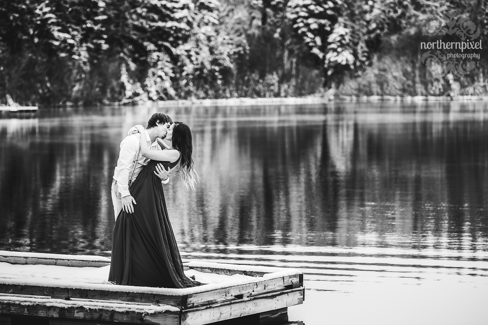 Prince George Engagement Session Elopement Lake BC