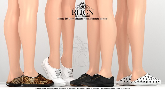 REIGN.- ARIANNA SNEAKERS (UPDATED!!)