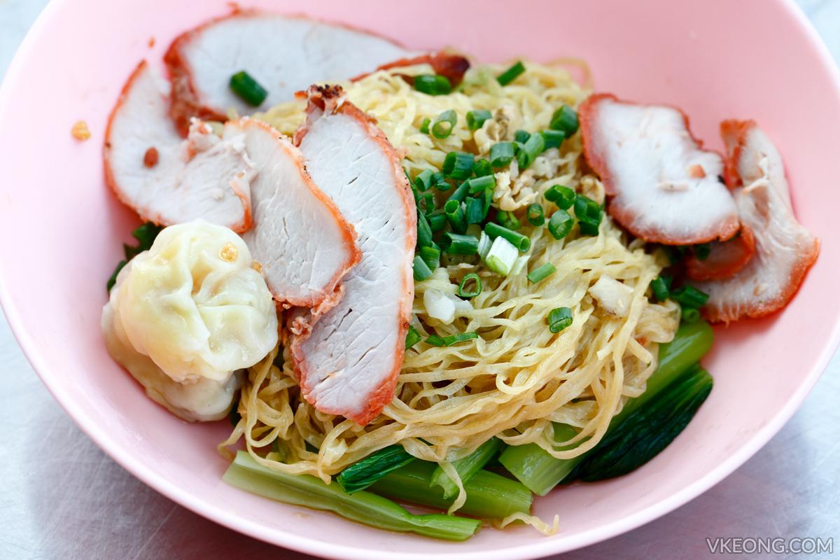 Bangkok Chinatown Yaowarat Wonton Noodle
