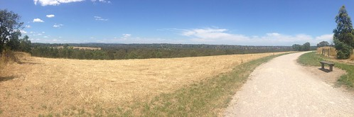 Panorama from Banyule Flats, Viewbank