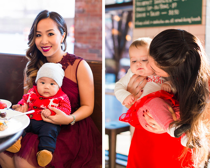 holiday christmas party baby outfits
