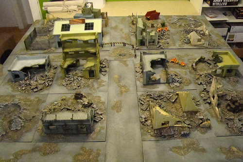 Modern City Gametable (Miniwargames Wuppertal)