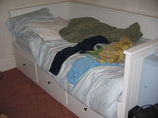 new bed from ikea this was hell to put together that 39 s