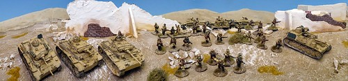 Bolt Action - Afrika Korps Armoured Platoon