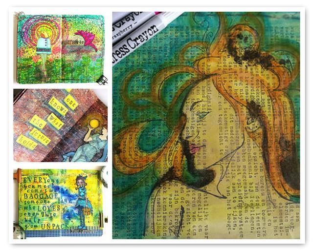 Art journal favorites part 2