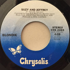 BLONDIE:THE TIDE IS HIGH(LABEL SIDE-B)