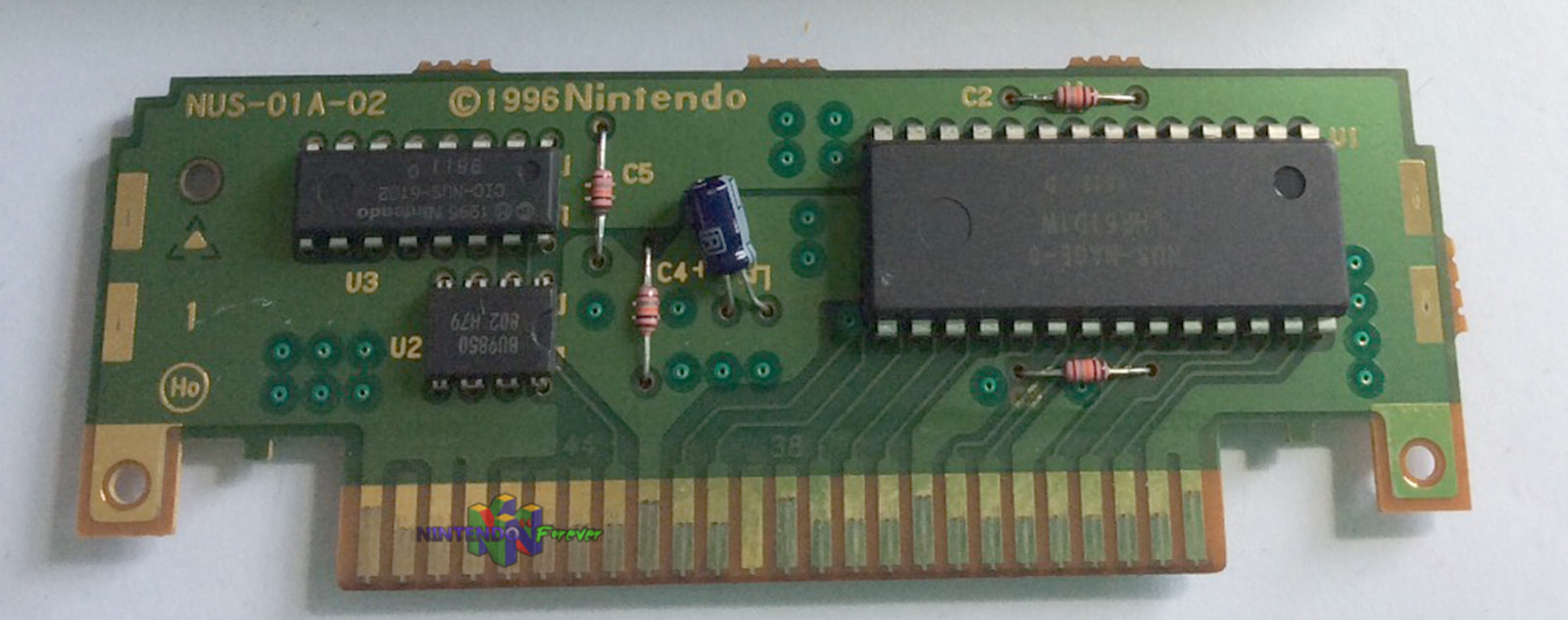 N64 Cartridge Board Scan/Picture Repository Complete