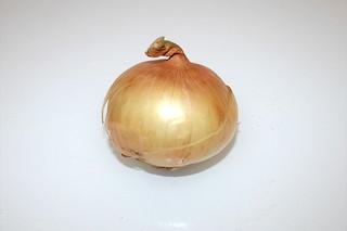 12 - Zutat Gemüsezwiebel / Ingredient onion