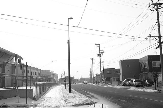 An afternoon street