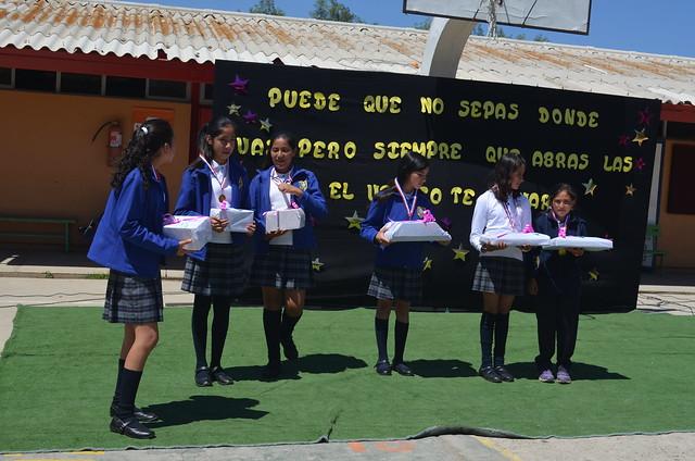 Acto Finalización Año Escolar 2016 Escuela Canela Baja