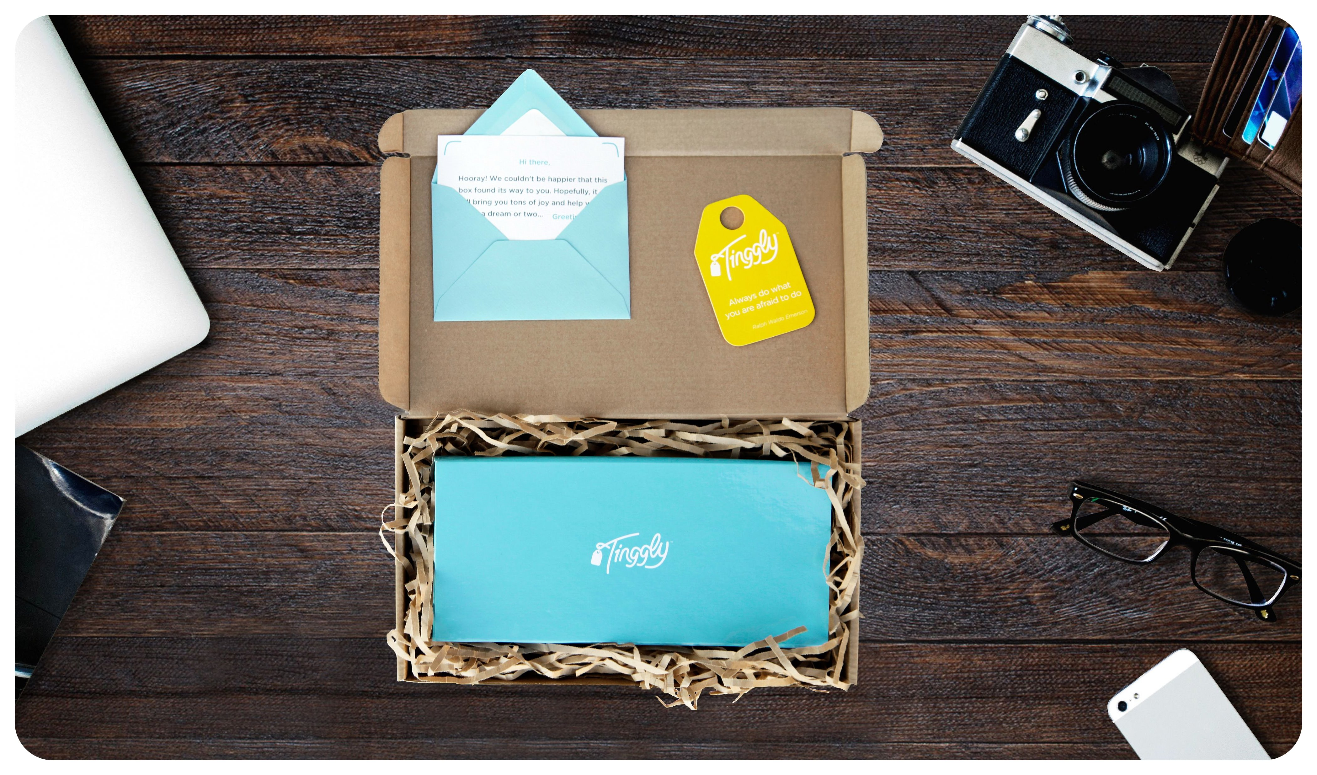 tinggly fancy gift box
