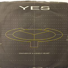 YES:OWNER OF A LONELY HEART(JACKET A)