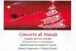 Noicattaro. Concerto di Natale Coro SoLaRe front
