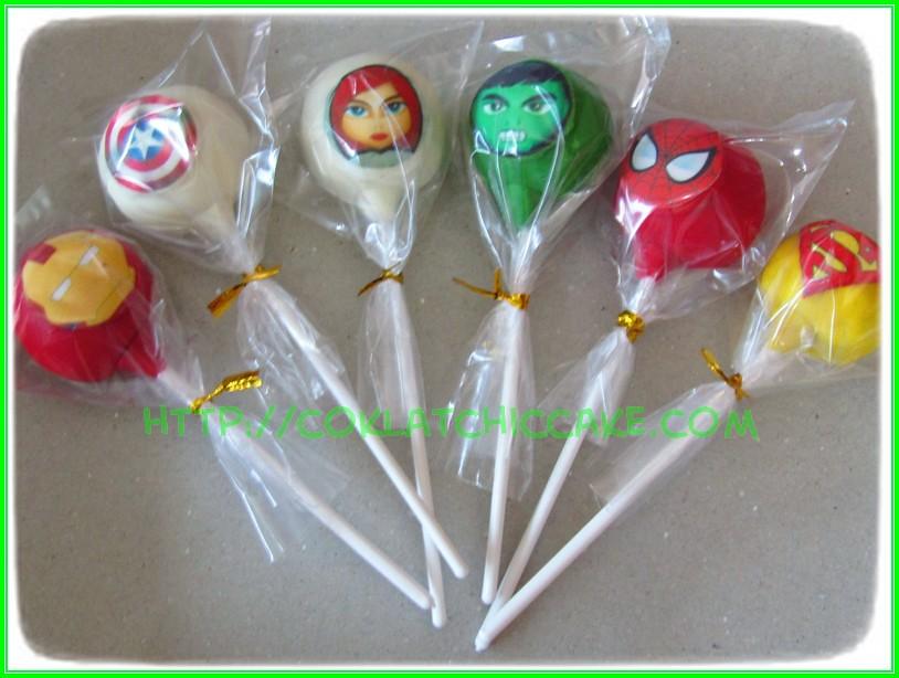 cakepops avengers