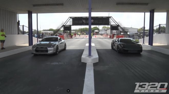1600hp Nissan GT-R 挑戰2000+hp Lambo Gallardo