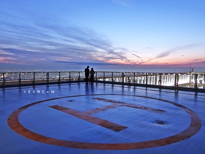 31 日本大阪 阿倍野展望台 HARUKAS 300 日本第一高摩天大樓 360度無死角視野 日夜皆美