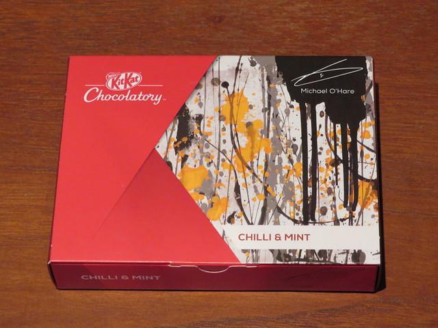London Kit Kat Chocolatory - Chilli & Mint