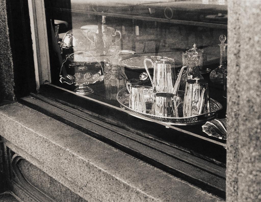 Charleston, South Carolina, shop window, 1970s
