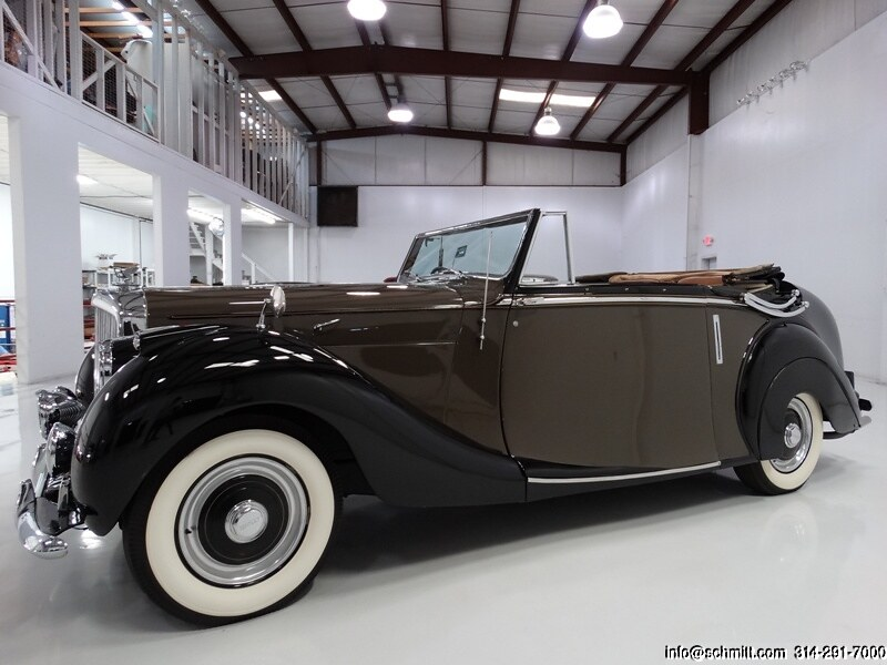 1948 BENTLEY MARK VI HOOPER DROPHEAD CONVERTIBLE