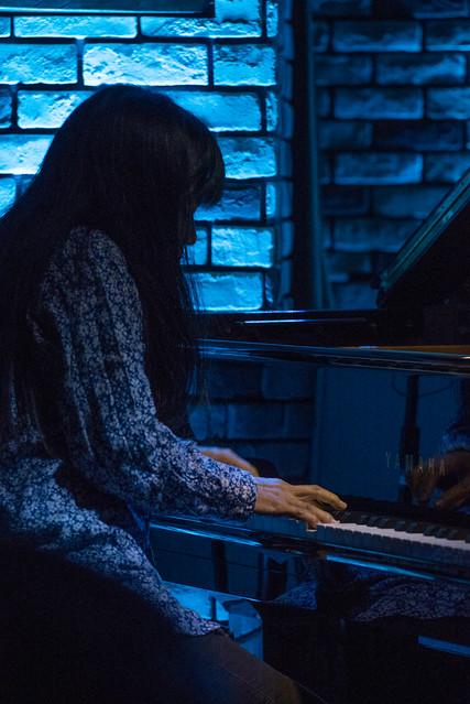 Satoko Fujii Quartet live at Cortez, Mito (Japan), 22 Dec 2016 -00144