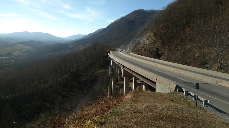 View of Powell's Valley from near Benge's Gap