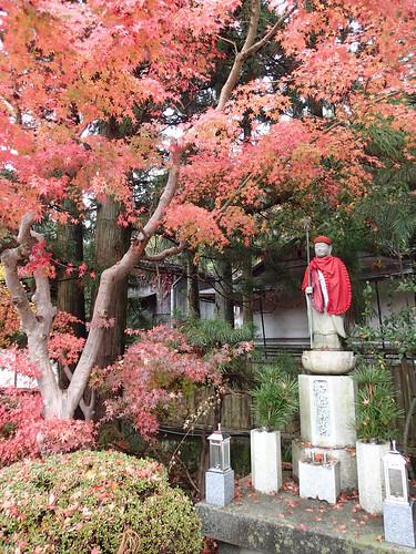 Koyasan main street shrine
