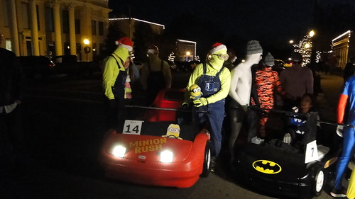 Mocksville Bed Races -2014 Twas The Night Before Bed Race!