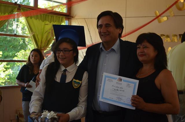 Licenciatura 8° Básico Escuela Mincha Norte 2016