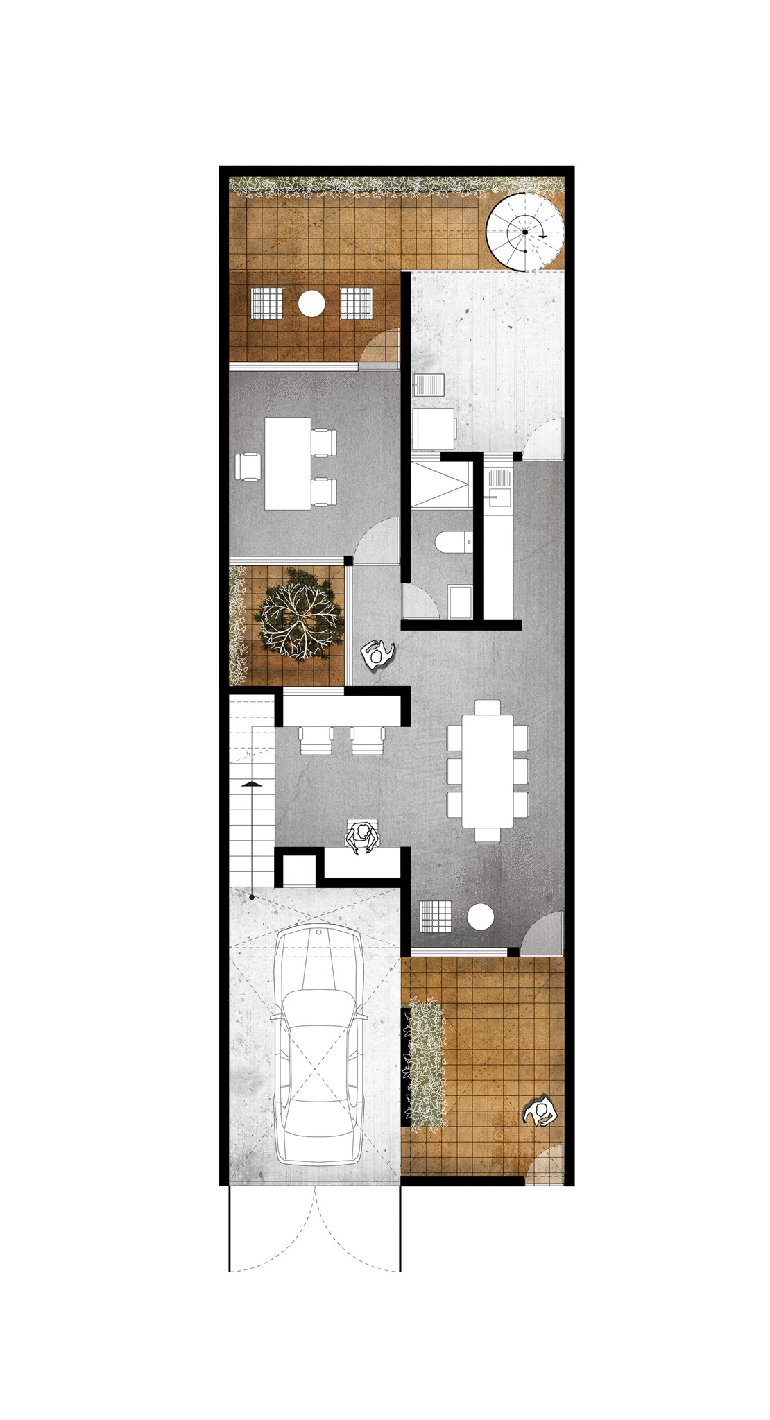 Mexican studio created by Intersticial Arquitectura Sundeno 12