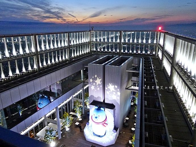 33 日本大阪 阿倍野展望台 HARUKAS 300 日本第一高摩天大樓 360度無死角視野 日夜皆美
