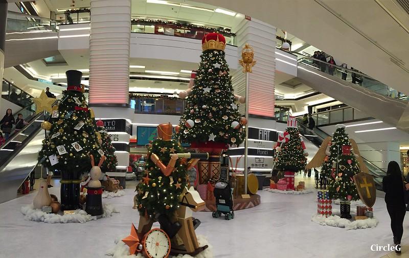 CIRCLEG 香港 尖沙咀 美麗華商場 TSIMSHATSUI  MIRA MALL 2016聖誕 遊記 聖誕 2016  (7)