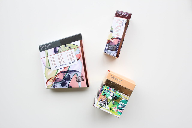 Teeez cosmetics review