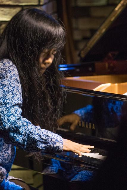 Satoko Fujii Quartet live at Cortez, Mito (Japan), 22 Dec 2016 -00388