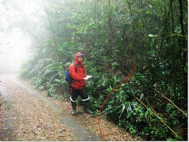 羅浮山第一登山口 1
