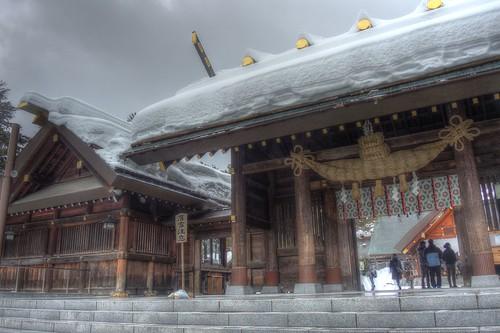 Hokkaido-Jingu Shrine on DEC 26, 2016 (9)