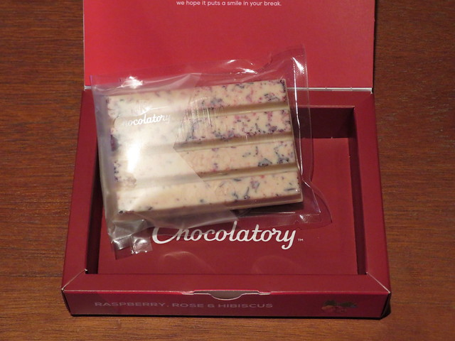London Kit Kat Chocolatory - Raspberry, Rose & Hibiscus