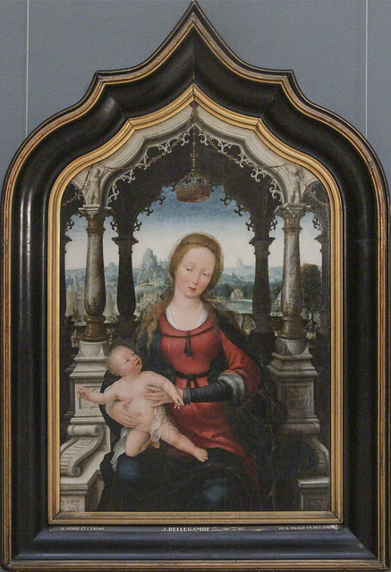 Virgin and Child, Jean Bellegambe