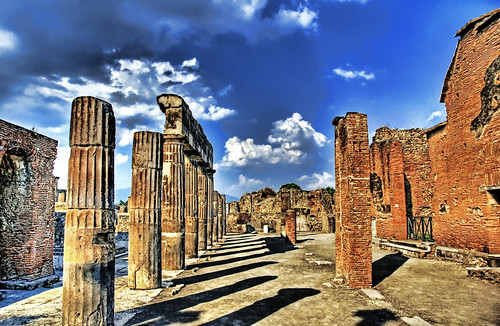 Blue Skies of Pompeii | by Stuck in Customs