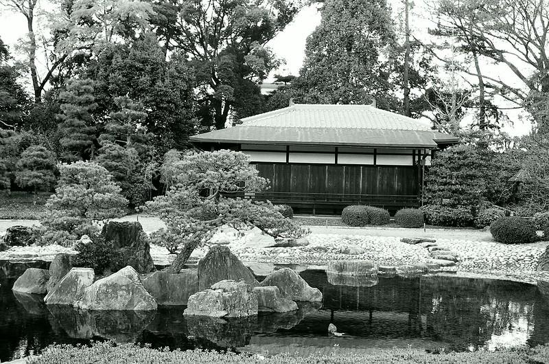 Japanese garden (leaning...)